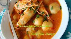 Les dombrés aux crevettes : fondant et délice dans l'assiette