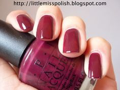 Mrs O'Leary's BBQ (Chicago Collection - Fall 2005)  - this has been a fan fav shade since it's release...it's always a good one to pull out in the fall