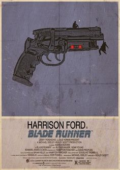Blade Runner - Alternative Poster Still such a terrific film, even today. Some prints may include a small, white border. Best Movie Posters, Minimal Movie Posters, Movie Poster Art, Ridley Scott Blade Runner, Blade Runner Poster, Blade Runner 2049, Blade Runner Art, Kino Film, Fan Art