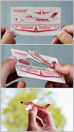 Here are a few examples of business cards that we at Glantz Design found very creative. Name Card Design, Tag Design, Design Cards, Clever Design, Graphic Design, Creative Advertising, Advertising Agency, Design Graphique, Art Graphique