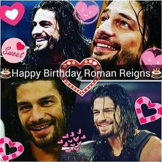 Happy Birthday to Our Champ 🎂🎂🎂 Have a Good Life ❤ Wwe Superstar Roman Reigns, Wwe Roman Reigns, Happy Birthday Joe, Love Your Smile, How To Draw Hair, Roman Empire, Big Dogs, Life Is Good, Celebrity