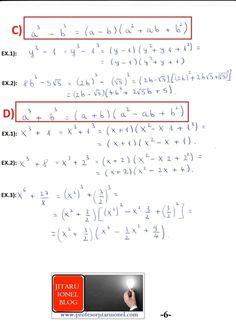 Formule de calcul prescurtat: teorie + exemple (exercitii rezolvate matematica gimnaziu) – #JitaruIonelBLOG -pregatire BAC si Evaluarea Nationala 2020 la matematica si alte materii! *materiale (lectii +formule +exercitii rezolvate matematica) gimnaziu si liceu; *edu.ro modele BAC 2020 modele Evaluare Nationala 2020; *modele simulare Evaluare Nationala BAC 2020 2019 2018 2017 2016 2015 2014 2013 2012 2011 2010 subiecte.edu.ro; Modele comper 2020; evaluare nationala clasele 2 4 6 modele 2020; *tit Algebra, Bullet Journal, Blog, Math Equations, Education, Words, School, Calculus, Blogging