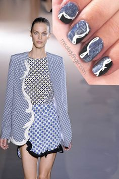 MANICURE MUSE: Stella McCartney Spring '12 In case you didn't know, Stella McCartney is the official designer of the Briti...