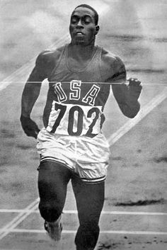 Bob Hayes during the 1964 Tokyo Olympics...Dallas Cowboys famous running back.