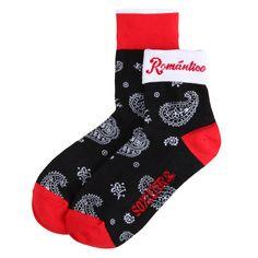 ROMANTICO : black Socks
