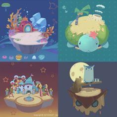 casual star design Game Ui Design, Prop Design, Childrens Logo, Arcade, Isometric Art, Game Props, Game Concept Art, Cg Art, Environment Design