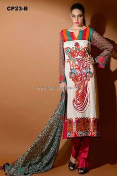 Charizma Swiss Lawn 2013 for Women and Girls 001