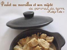 Poulet au maroilles et mijoté de pommes de terre