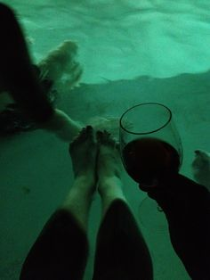 wading in the pool after stomping port grapes! http://grapefriend.com/2012/09/25/grape-stomping-accordion-chicken-dance-taylor-port-vargellas/#