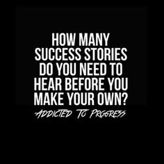 How about writing down and creating a vision of your ultimate success story...and taking steps towards it?