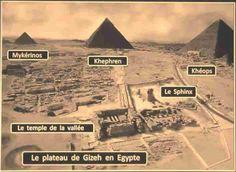 Les trois pyramides de Gizeh