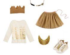 La nouvelle couleur à la mode, c'est l'or !