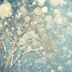 Snowblind - Fine art photograph - winter - abstract. Irene Suchocki