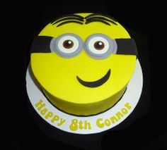Minion Birthday Cake by Make a Cake by Chaz, Emerald, Queensland, Australia. You'll find this Cake Appreciation Society Member in our Directory at www.cakeappreciationsociety.com