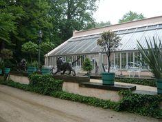 Schloß und Park Branitz - an der Orangerie
