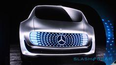Mercedes-Benz F 015 self-driving car slashgear.com