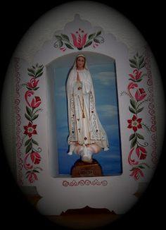 Atelier de Arte Julainne: Imagem de Santa  -Oratório - Oração