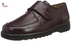 Ganter  ERIC, Weite I, pantoufles garçon - Rouge - Rot (bordo 4500), 38,5 EU - Chaussures ganter (*Partner-Link)