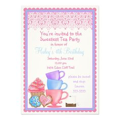 257 best tea party birthday invitations images in 2018 tea party