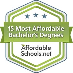affordable schools rankings badge