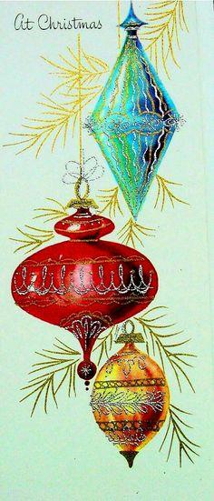 Vintage ornaments.