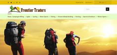 Frontier Traders, an uk ecommerce website design & developed by best ecommerce website designers UK, Vtech