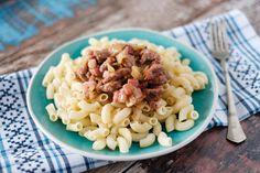 Egy finom Borsos tokány szarvacska tésztával ebédre vagy vacsorára? Borsos tokány szarvacska tésztával Receptek a Mindmegette.hu Recept gyűjteményében! Lidl, Macaroni And Cheese, Bacon, Pork, Lunch, Cooking, Ethnic Recipes, Kale Stir Fry, Kitchen