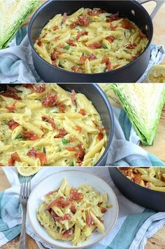 Easy Cooking, Cooking Recipes, Healthy Recipes, Pot Pasta, Dairy Free Recipes, Food Inspiration, Good Food, Brunch, Food And Drink