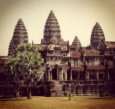 I took this photo of Angkor Wat with my first digital camera in 2004. That was 13 years ago when visiting Siem Reap was such a breeze.  I still remember the place was serene peaceful and quiet minus the hoards of tourist that you will encounter nowadays. It was pure joy waking around the temple grounds and experiencing one of the most beautiful temples in earth.  It has been that long since I last visited here and perhaps it is time to make another trip here to see what has changed… Instagram Travel, Siem Reap, Pure Joy, Angkor Wat, Temples, Cambodia, Breeze, Barcelona Cathedral, Digital Camera