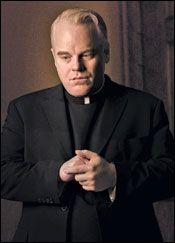 Hot Fuzz (2007) Paul Freeman as Rev. Philip Shooter ...