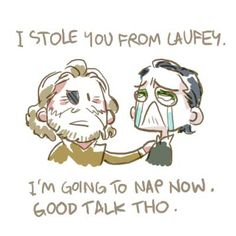 Odin and Loki