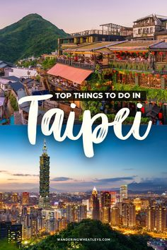 Are you planning to travel to Taiwan? Here's your guide to the best things to do in Taipei that includes everything from iconic places to an epic hike! Start planning your Taipei trip today! I things to do in Taiwan I what to do in Taipei I Asia travel tips I Taiwan travel I where to go in Taipei I places to go in Taiwan I Taipei attractions I destinations in Taiwan I places to go in Taipei I Taipei travel guide I places to visit in Taipei I #Taipei #Taiwan