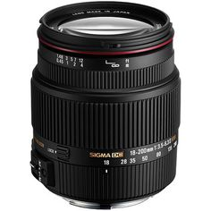 Sigma 18-200mm f3.5-6.3 II DC OS HSM Lens - Canon Fit £239