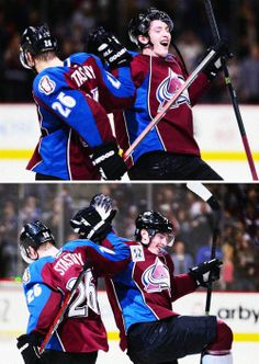 Paul Stastny and Matt Duchene • Colorado Avalanche • via jordanstaal / Tumblr