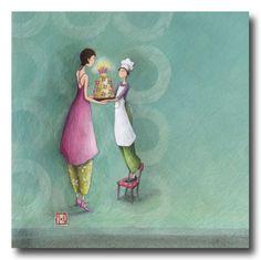 BOISSONNARD Offrir un gâteau