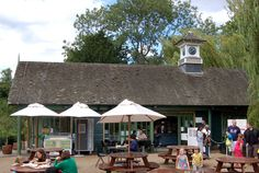 File:Boating lake cafe, Regents Park - geograph.org.uk - 1407608.jpg