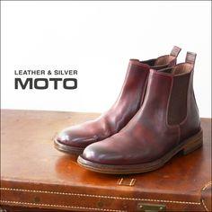 【楽天市場】moto leather&silver[モトレザー] SIDE GORE BOOTS [1641] サイドゴアブーツMEN'S【あす楽対応】:refalt