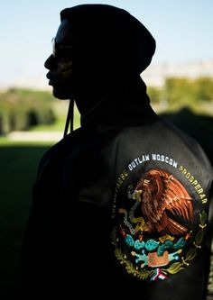 Mexican Eagle Bomber - Made to Order streetwear from Russia Ethical Fashion, Mens Fashion, Vogue Russia, Hoodies, Sweatshirts, Moscow, Ready To Wear, Street Wear, Menswear