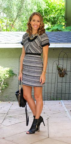 Today's Everyday Fashion: The Tweed Dress