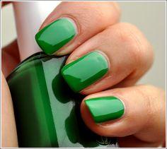 Essie- Pretty Edgy- beautiful green