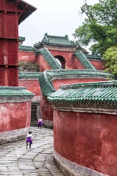 "Wudang Monastery, China Use promo code ""PINME"" for 40% off all hammocks on our site maderaoutdoor.com ⛺"