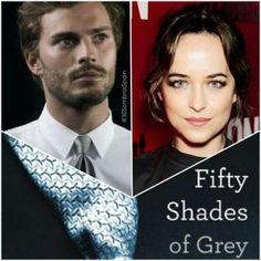 Fifty Shades of Grey Jamie Dornan and Dakota Johnson pose as 'Fifty Shades of Grey' characters - http://www.themoviefiftyshadesofgrey.co.uk/jamie-dornan-and-dakota-johnson-pose-as-fifty-shades-of-grey-characters/