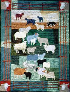 Woolly Sheep Quilt