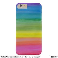 Shop Ombre Watercolor Print Phone Case for iPhone created by Inaayah. Iphone 6, Iphone Cases, Passion For Life, Watercolor Print, 6s Plus, I Shop, Prints, Design