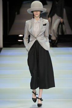 Sfilata Emporio Armani Milano - Collezioni Autunno Inverno 2014-15 - Vogue