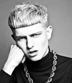 Kevin Luchmun's winning collection from the British Men's Hairdresser of the Year Awards 2013 #hair #hairdressing #kevinluchmun