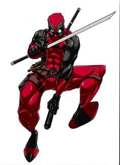 Some fan made Deadpool art.