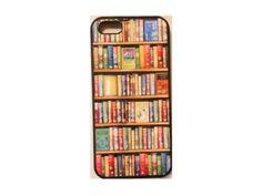 bookshelf 本棚 iPhoneケース ホワイト ユニークなデザインの画像 | 海外セレブ愛用 ファッション先取り ! iphone5sケース iph…