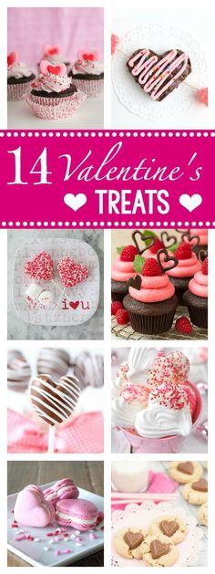 14 Fun Valentine's Treat Ideas