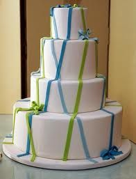 blue and green cake - Google Search